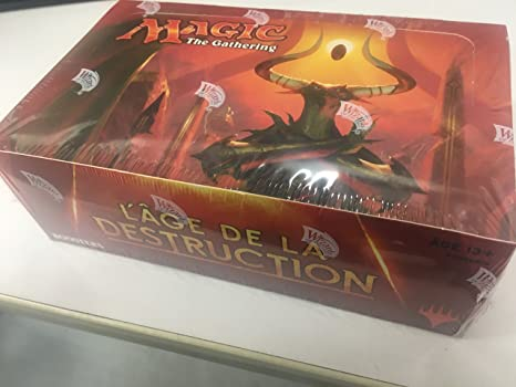 Magic: Age de la destruction - 604259 - Jeux de Société - Boîte de 36 Boosters de 15 Cartes