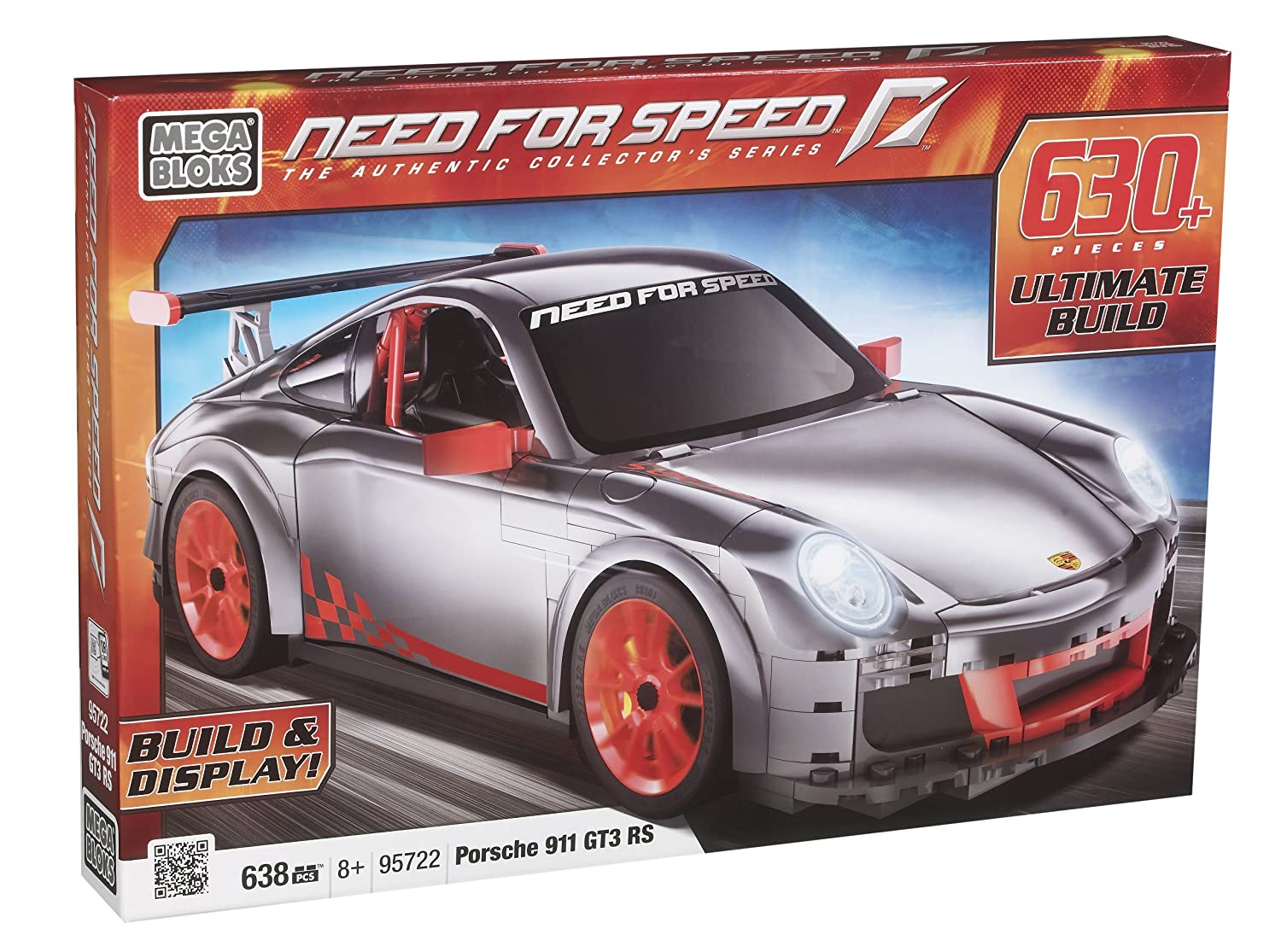 Mega Bloks 95722 – Need For Speed Porsche GT3 RS Car online kaufen