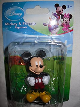 Disney Mickey Mouse Figurine by Beverly Hills (English Manual)