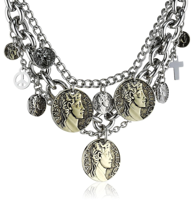 Dyrberg/Kern Damen-Halsband Versilbertes Metall 335550