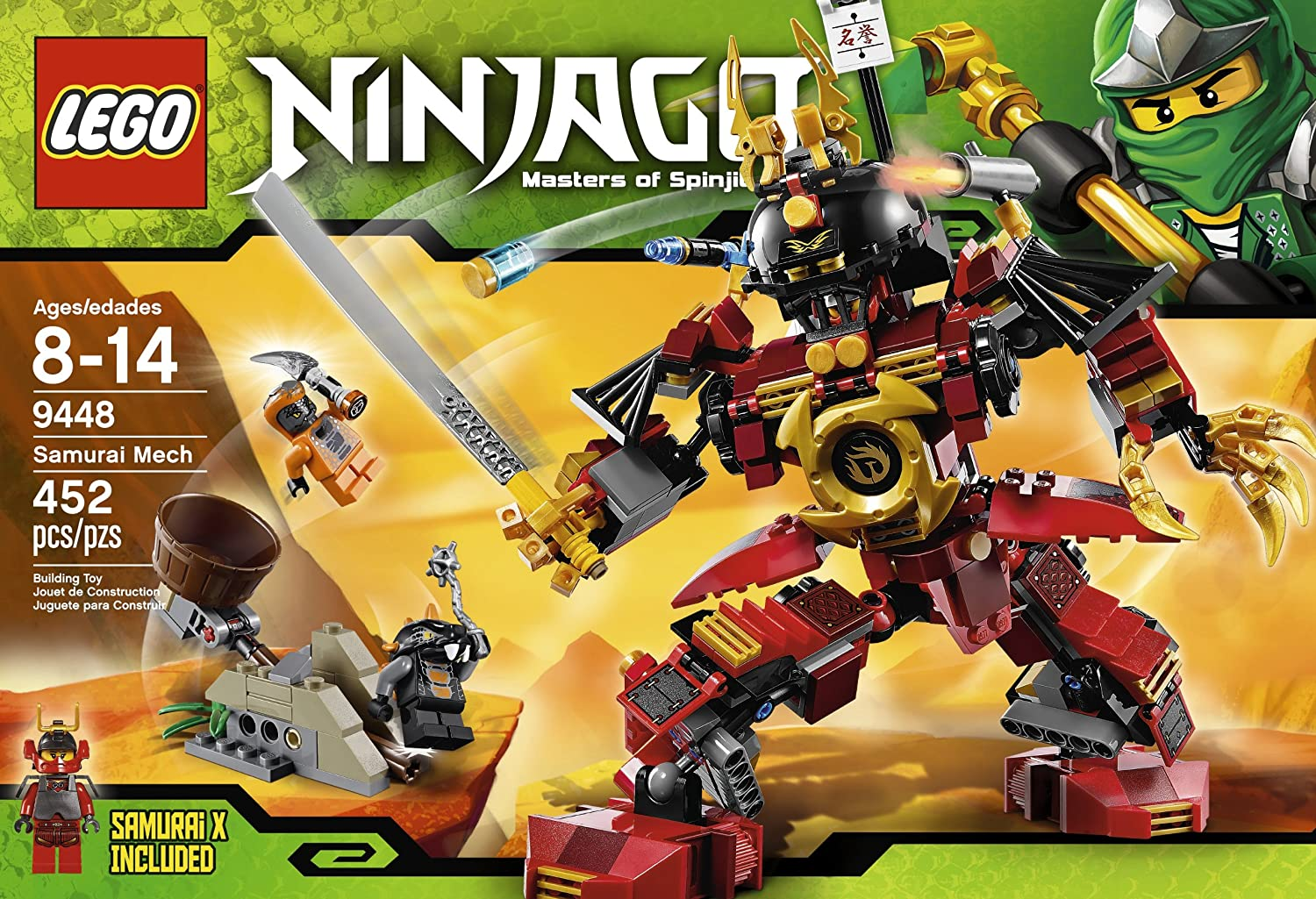The primary locale in The LEGO Ninjago Movie, which opens September 22, Ninjago City is an Eastern-inspired cyberpunk city, brimming with action and loaded with hidden details. Ninjago City.