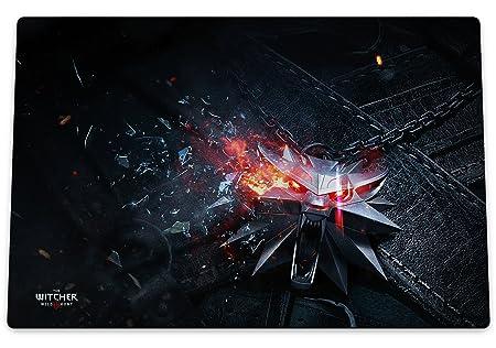 Playmat Premium The Witcher 3 tapis de jeux haut de gamme ou tapis de souris géant Wild Hunt