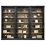Martin Furniture IMTE4094x3 IMTE402 Toulouse 3 Bookcase Wall (Color: Brown)