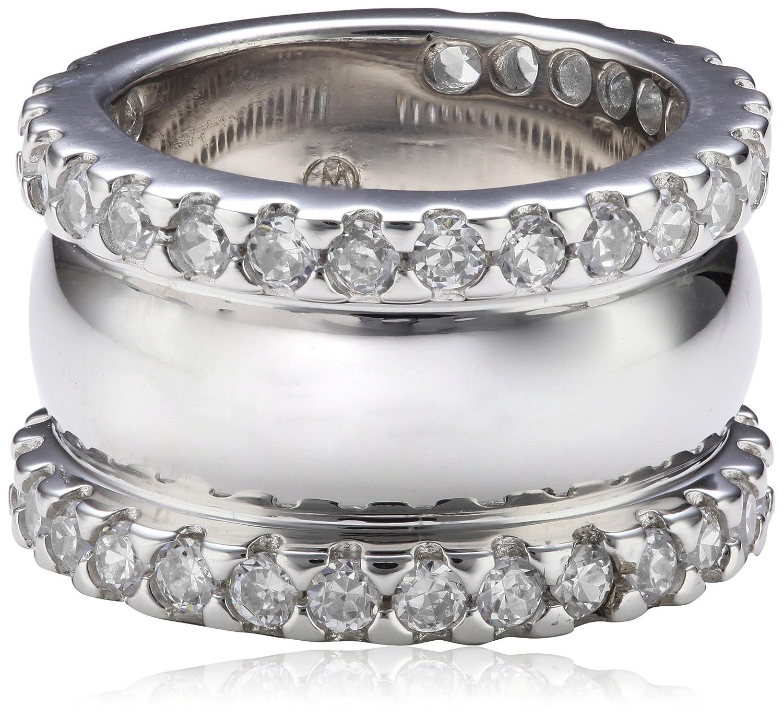 Giorgio Martello Milano Damen-Ring Sterling-Silber 925 Zirkonia weiÃY günstig online kaufen