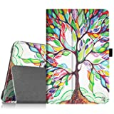 Fintie Microsoft Surface 3 Case - Premium PU Leather Folio Stand Cover with Stylus Holder for Microsoft Surface 3 10.8-Inch Windows Tablet (Not Fit Surface Pro 3 12-Inch), Love Tree (Color: Z-Love Tree, Tamaño: Surface 3)