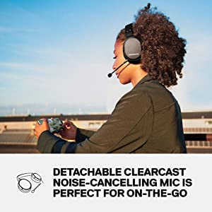 SteelSeries Arctis 1 Wireless Gaming Headset - USB-C Wireless - Detachable Clearcast Microphone - for PS4, PC, Nintendo Switch, Android - Black - Playstation 4