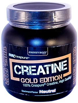 Energybody Creatin Gold Edition  Neutral, 1er Pack (1 x 500 g)