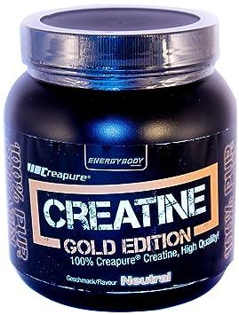 Energybody Creatin Gold Edition  Neutral, 1er Pack (1 x 500 g)