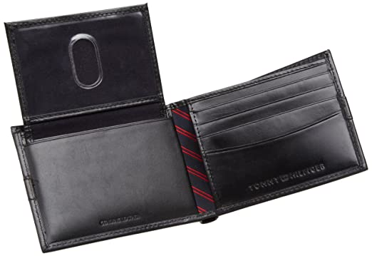 tommy hilfiger herren wallet passcase portmonnaie. Black Bedroom Furniture Sets. Home Design Ideas