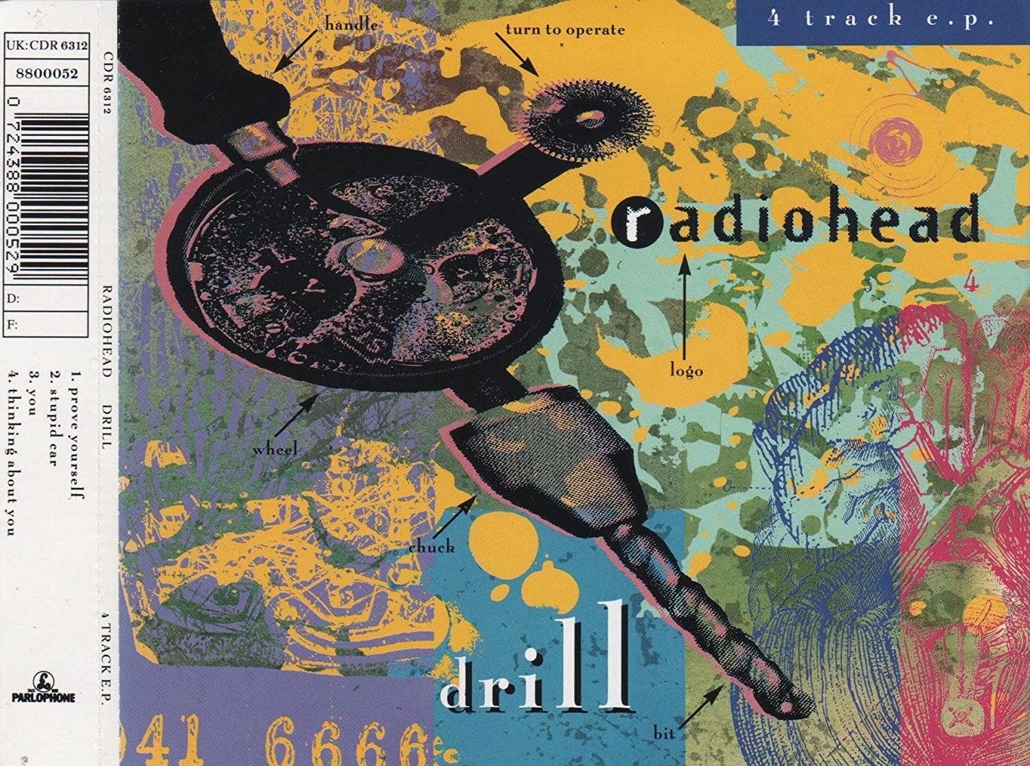 Radiohead The Drill EP