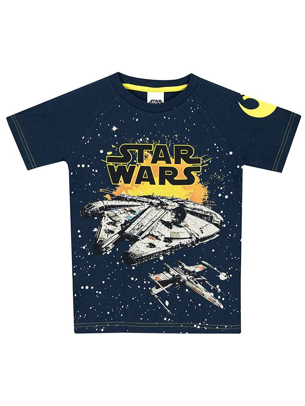 Star Wars Boys Millennium Falcon T-Shirt 0
