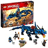 LEGO NINJAGO Masters of Spinjitzu: Stormbringer 70652 Ninja Toy Building Kit with Blue Dragon Model for Kids, Best Playset Gift for Boys (493 Piece) (Color: Multicolor)