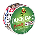 Duck Brand 283280 Emblem3 Printed Duct Tape, 1.88 Inches x 10 Yards, Single Roll