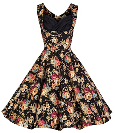 Lindy Bop Women's Ophelia Vintage 1950's Swing Dress