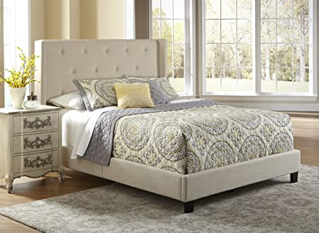 Pulaski Aurora All-in-1 Fully Upholstery Shelter Bed, Queen