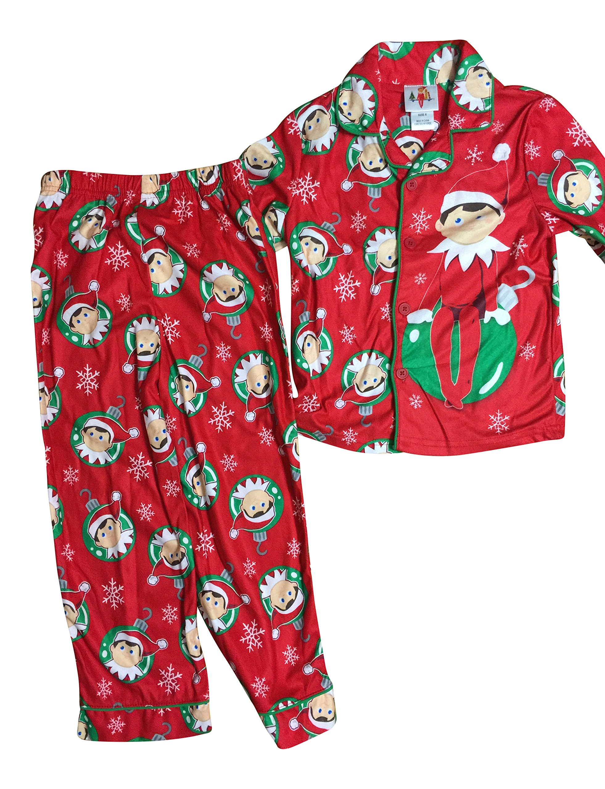 The Elf On The Shelf Boys 2pcs Sleep Pajama Set Size 8 Ebay
