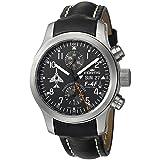 Fortis Men's 635.10.91 L.01 F-4 Phantoms Phorever Analog Display Automatic Self Wind Black Watch (Color: Black)