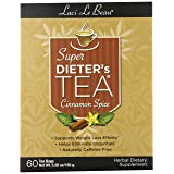 Laci Le Beau Super Dieter's Tea, Cinnamon Spice, 60 Count Box (Pack of 2) (Tamaño: 60 BAG)