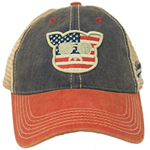 cbf1b08367cf6 Islanders Pig Face Old Favorite Trucker Hat