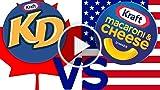 Canadian KD Vs. American Mac 'N' Cheese