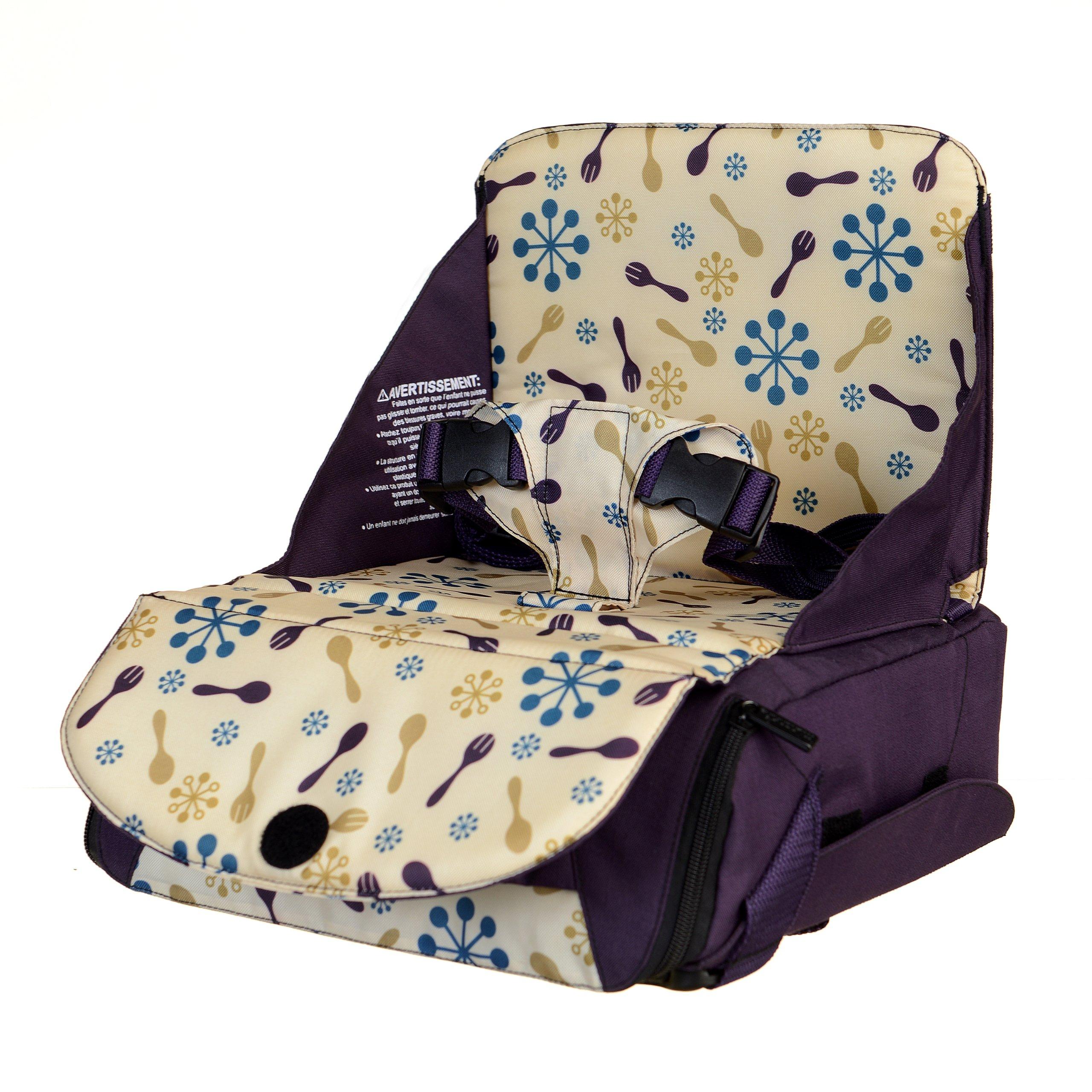 munchkin 满趣健Travel Booster Seat 宝宝便携安全座椅(带储物功能)一站式海淘,海淘花专业海外代购网站--进口 海淘 正品 转运 价格