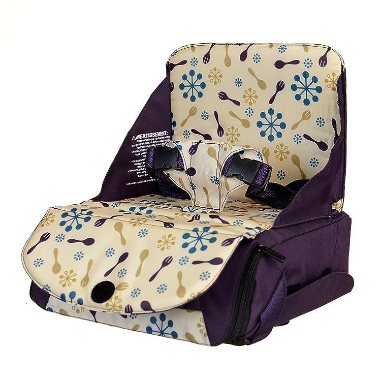 munchkin 满趣健Travel Booster Seat 宝宝便携安全座椅(带储物功能)