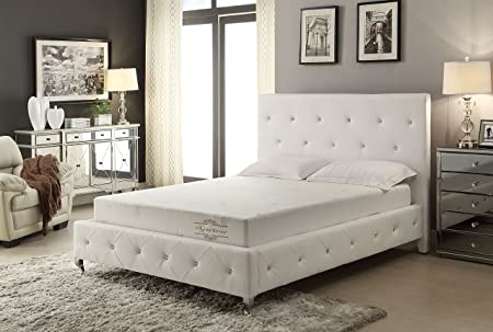 AC Pacific 8-Inch Aloe Vera Mattress, Twin