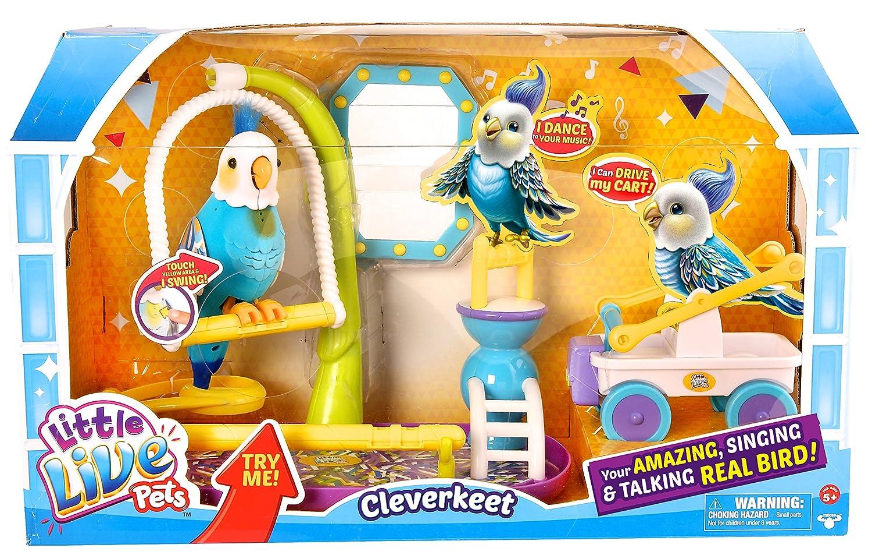 Little Live Pets Cleverkeet Playset Toy