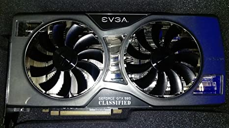 EVGA 04G-P4-5988-KR Carte graphique Nvidia GeForce GTX 980 KNGPN 1418 MHz 4096 Mo PCI-Express