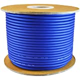 GLS AUDIO Bulk Microphone Cable 300' Blue Mic -300ft Signal mike cable (Color: Blue)