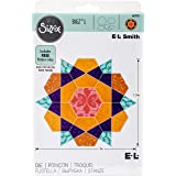 Sizzix Rose Star by E.L. Smith Bigz Dies Fabi Edition, Large (Color: Pink, Tamaño: Large)