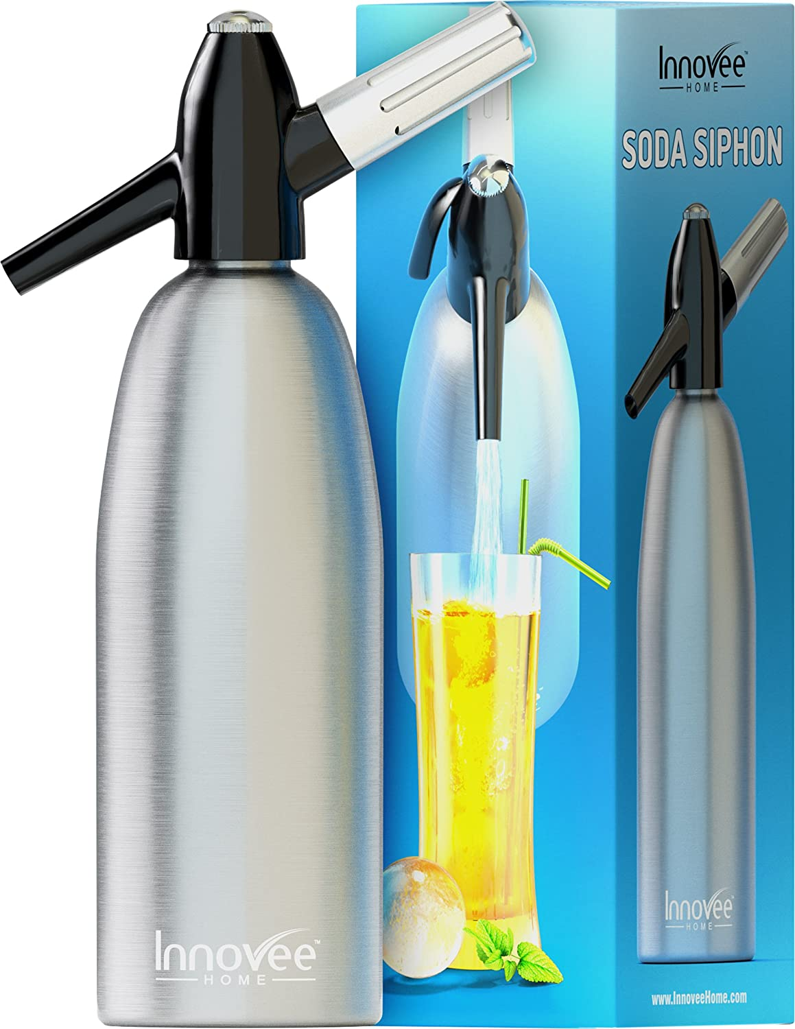 Innovee Soda Siphon Ultimate Soda Maker