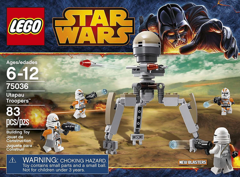 LEGO Star Wars 75036 Utapau Troopers , New, Free Shipping ...