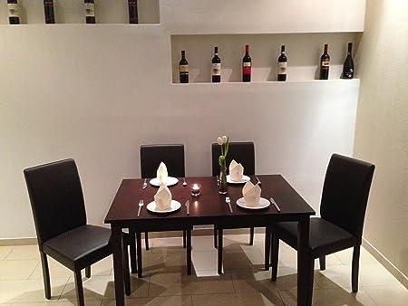 Esszimmer Set MARIA Stuhl Tisch Gastro Restaurant Bistro Hotel 4er Set