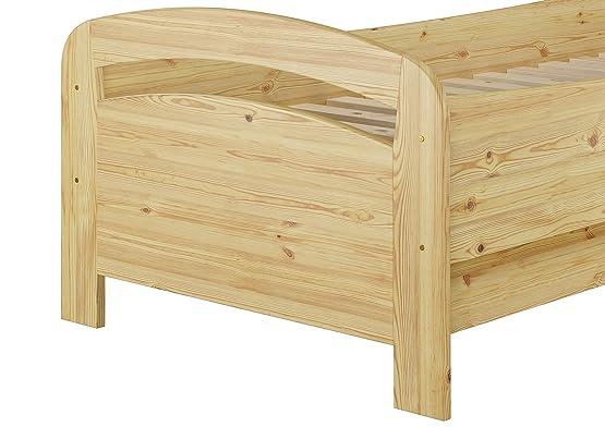 Senior letto extra alto letto singolo 90X 200in pino massiccio Legno Letto (senza accessori) 60.43–09or