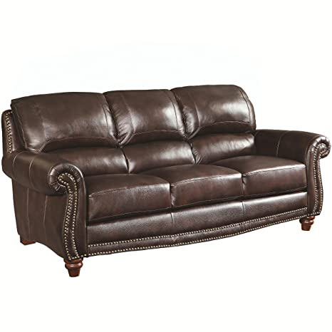 Coaster 504691 Home Furnishings Sofa, Burgundy