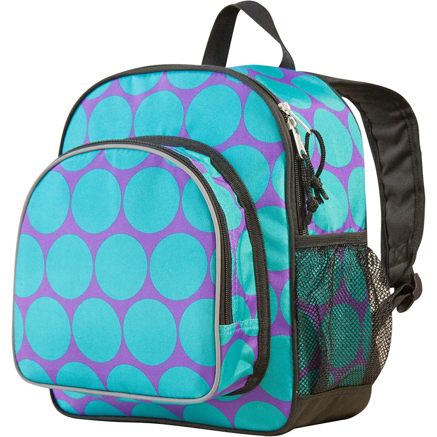 Wildkin Toddler Pack 'n Snack Backpack Aqua Dots
