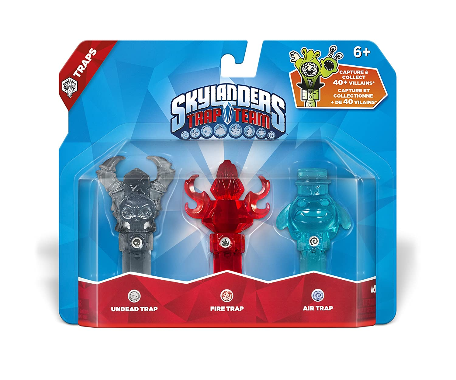 Skylanders Trap Team Characters List Details Launch Wave ...