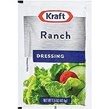 Kraft Ranch Salad Dressing Packet, 1.5 oz. (Single Serve Salad Dressings) Pack of 60