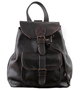 PAUL MARIUS petit sac à dos en cuir couleur Indus& style vintage LE BAROUDEUR    Commentaires en ligne plus informations