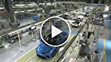 Toyota Mirai Production Line - Plant Interior and...