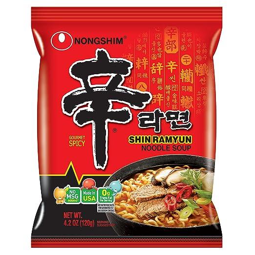 Nongshim Shin Noodle Ramyun Gourmet Spicy
