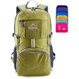Venture Pal Lightweight Packable Durable Travel Hiking Backpack Daypack (Green) (Color: 07. Green)