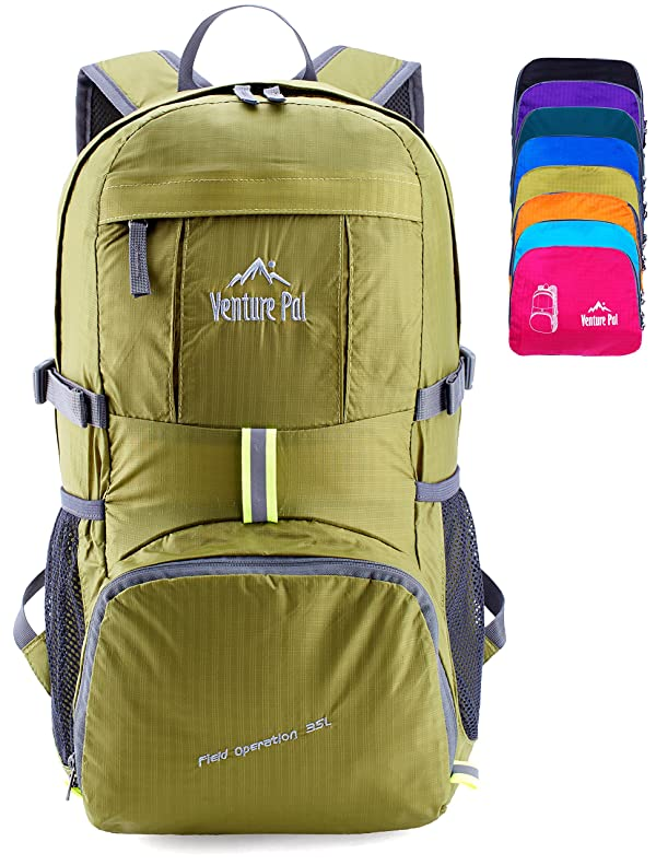 6634b2aefa Venture Pal Lightweight Packable Durable Travel Hiking Backpack Daypack  (Green) (Color  07. Green)