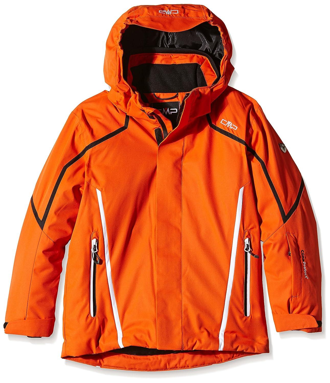 CMP BOYS TWILL SNAPS HOOD JKT UNI 93 orange jetzt bestellen
