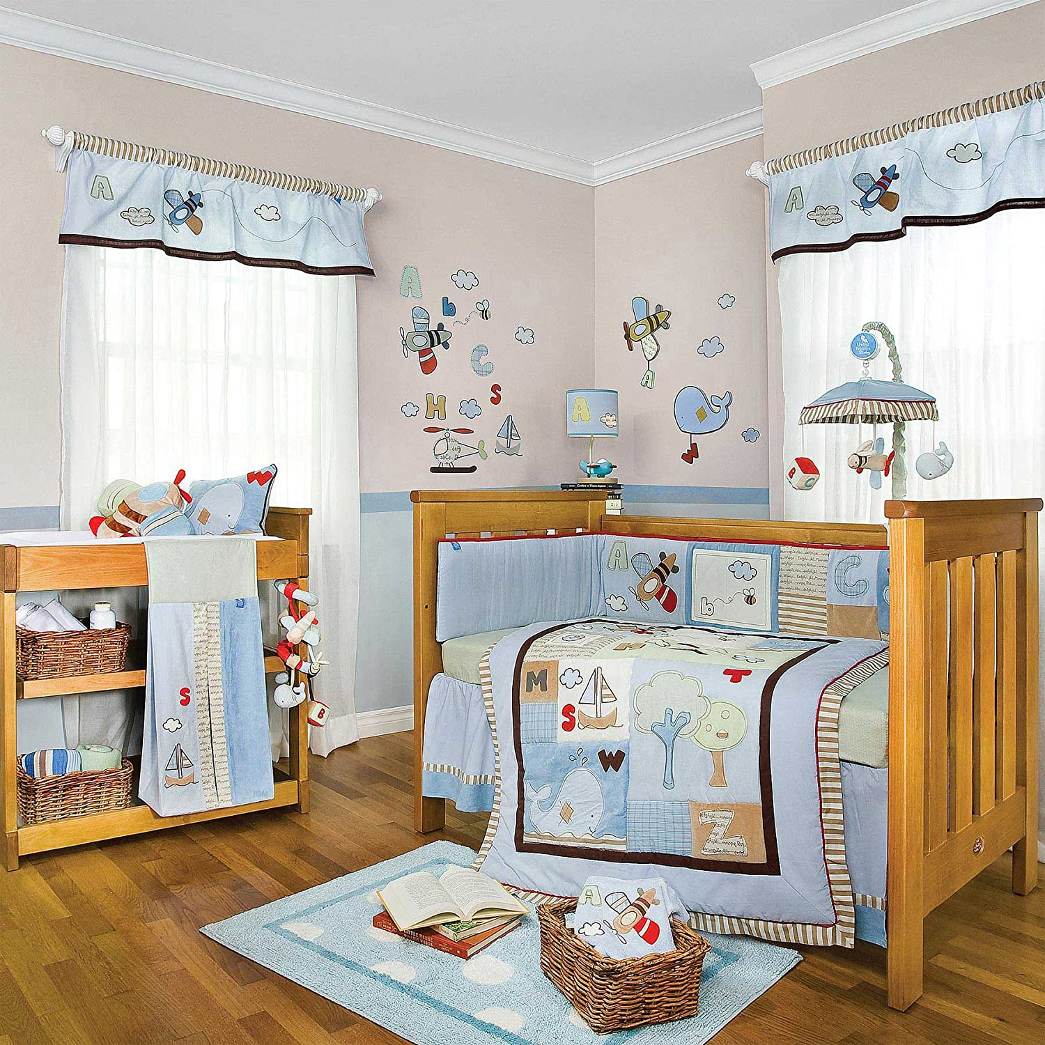 Crib Bedding For Unisex Baby
