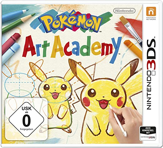 Pokémon Art Academy, 3DS