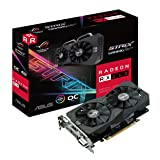 ASUS ROG Strix Radeon RX 560 14CU O4G EVO Gaming OC Edition GDDR5 DP HDMI DVI AMD Graphics Card (ROG-STRIX-RX560-O4G-EVO-GAMING)