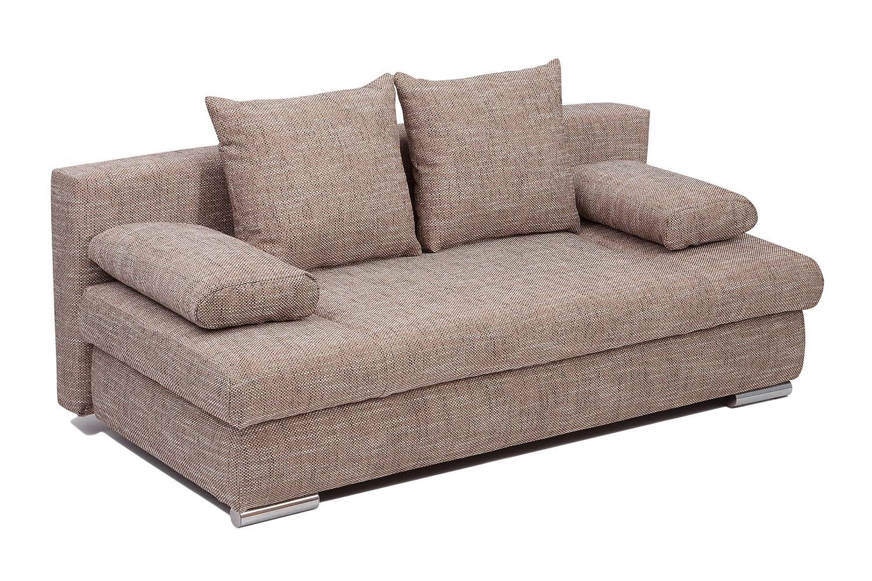 b famous schlafsofa chicago fk strukturstoff capuccino 200x95 cm klasse sofa meiner meinung. Black Bedroom Furniture Sets. Home Design Ideas