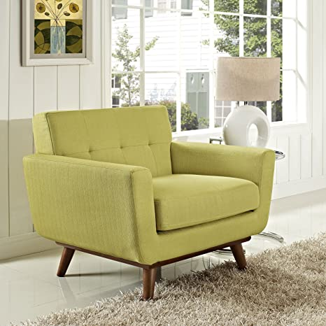 Engage Upholstered Armchair, Wheatgrass